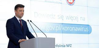 Konferencja prasowa nt. koronawirusa Fot. Krystian Maj / KPRM